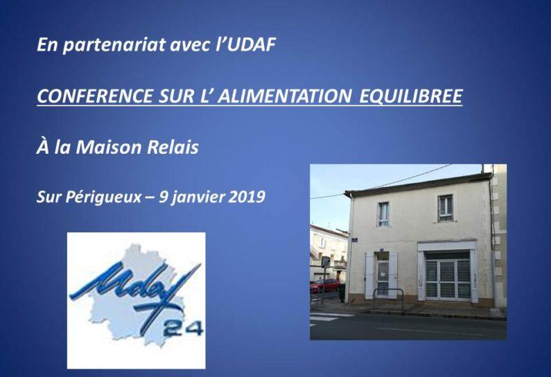 UDAF Conf du 9 janv 2019
